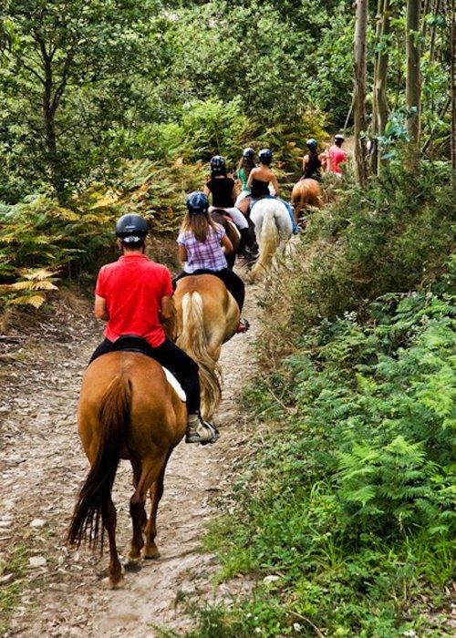 Paraje del Asturcón Ribadesella - Rutas a caballo